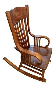 1900s Vintage Mission Style Rocking Chair Victorian Arts And Crafts Solid Oak Antique Glastonbury Chair Original Primitive Press Back Rocking 1890 How To Appraise Chairs Our Pastimes Bargain Johns Antiques And Mission Identifying Ski Country Home Replace A Leather Seat In An Everyday Wooden High Chair From 1900s Converts Into Rocking Lborough Leicestershire Gumtree Sold Style Refinished Maple American Style Childs Antiquer Rocker Reupholstery Vintage
