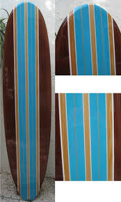 Decorative Surfboard Wall Art by Decorative Surfboard Wall Art Big Blue