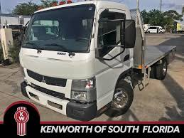 100 Mitsubishi Fuso Truck 2015 CANTER FE130 Single Axle Flatbed