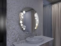 design spiegel rund mit led licht ylvi