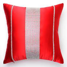 gros coussin de canapé nouveau luxe bande de beauté diamant décembre coussin