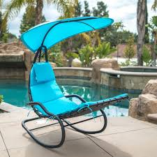 Belleze Hanging Rocking Lounge Chair Sun Shade Chaise Chair Powder Coated  Arc Frame Padded Cushion Patio, Blue Gymax Folding Recliner Zero Gravity Lounge Chair W Shade Genuine Hover To Zoom Telescope Casual Beach Alinum Us 1026 32 Offoutdoor Sun Patio Lounge Chair Cover Fniture Dust Waterproof Pool Outdoor Canopy Rain Gear Pouchin Sails Nets Chaise With Gardeon With Beige Fniture Sunnydaze Double Rocking And 21 Best Chairs 2019 The Strategist New York Magazine Recling Belleze 2pack W Top Cup Holder Gray Decor 2piece Steel Floating Cushions