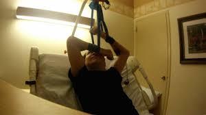 Trapeze Bar For Bed by C5 6 Quadriplegic Bed Exercises For Arms And Chest Using