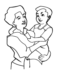 Printable Mothers Day Coloring Pages 2