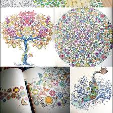 Enchanted Forest 12 Colors Pencils An Inky Quest Coloring Book For Relieve Stress Graffiti