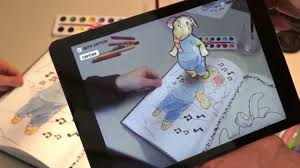 Augmented Reality Coloring Book On Non Planar Pages