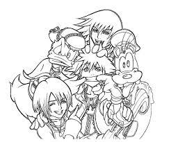Kingdom Hearts Free ColoringColoring PagesColoring BooksColouringKingdom