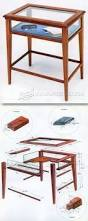 kitchen work table plans furniture plans and projects