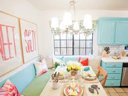 Orange Grey And Turquoise Living Room by Kitchen Paint Color Schemes And Techniques Hgtv Pictures Hgtv