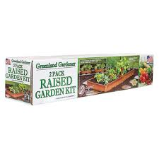 Greenland Gardener Raised Bed Garden Kit by Greenland Gardener Garden Bed Kit 2 Pk Bj U0027s Wholesale Club