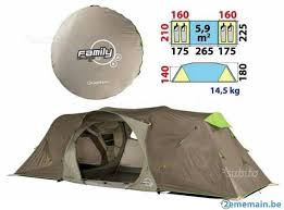 tente 4 places 2 chambres seconds family 4 2 xl quechua tente 4 2 second family a vendre 2ememain be
