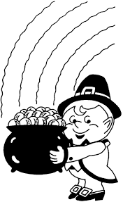 Prime Leprechaun Clipart Black And White 66 For History Clipart