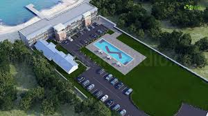 Yantram Studio Aerial View Of 3d Resort