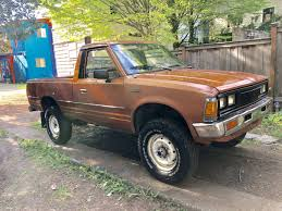 100 Small Utility Trucks Need More Small Trucks 1985 Nissan 720 44 Benedict Mudd
