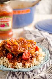Rustic Italian Chicken Cacciatore Is A Hearty Comfort Food Made With Bertolli Tomato Basil