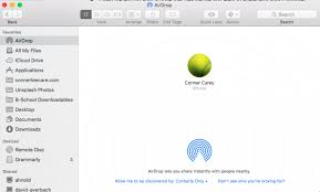 How to AirDrop s & Other Files from iPhone to Mac or
