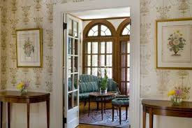The Sitting Rooms Triple Palladian Windows Nod To Elegance Of Federal Style While Flooding