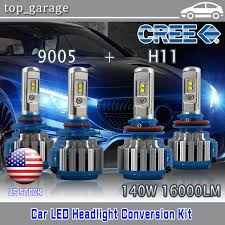 cree led headlight bulbs for 2007 2017 toyota camry high beam 9005