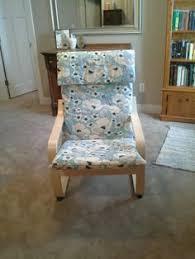 ikea poang chair recover i make sew pinterest nursery ikea