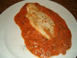 recette de cuisine avec du poisson pangasius en sauce tomate et basilic la cuisine ma