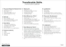 Sample Resume Skills List Example For Customer Service On