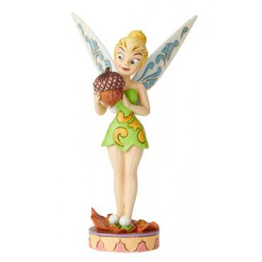 Disney Traditions Tinker Bell Nuts for Fall Figurine