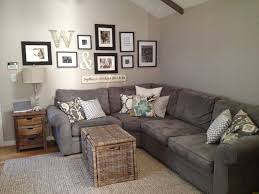 A Friendly Cozy Corner Including Couch Gallery Wall And Decor