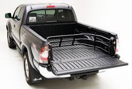 amp research moto x tender truck bed extender tailgate bed extender