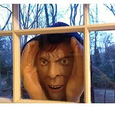 Halloween Scary Pranks 2015 by Amazon Com Scary Peeper Halloween Decoration Peeping Tom Look