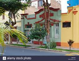 100 Houses For Sale In Lima Peru Colourful House On The Streets Of Miraflores District Of