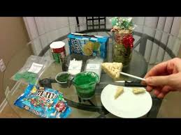Rice Krispie Christmas Tree Pops by Christmas Tree Rice Krispy Pop Youtube