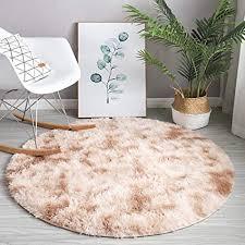 delongke runder teppich teppich rund hochflor langflor modern teppiche fürs wohnzimmer fürs wohnzimmer schlafzimmer esszimmer oder