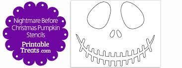 Skeleton Pumpkin Carving Patterns Free by Printable Nightmare Before Christmas Pumpkin Stencils U2014 Printable