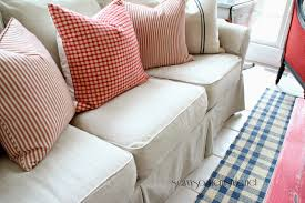 Crate And Barrel Verano Sofa by Custom Slipcovers And Couch Cover For Any Sofa Online