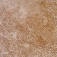 Florida Tile Grandeur Nature by Ms International Travertino Walnut 18 In X 18 In Glazed