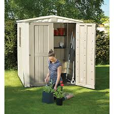 plastic sheds garden sheds greenhouses wickes co uk