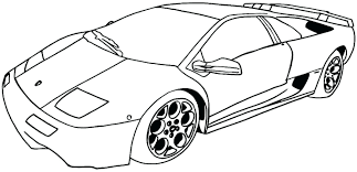 Cool Car Coloring Pages For Adults Wash Page Muscle Online Police