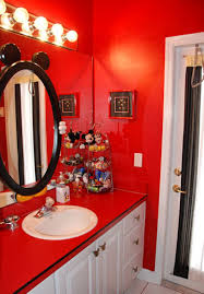 mickey mouse bathroom pictures