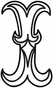 i letter designs Asafonec