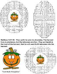 Pumpkin Patch Parable Printable by Pumpkin Sunday Lesson Preschool Kids Fall Lesson Plans