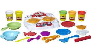 Play Doh Kitchen Creations Sizzlin Stovetop Kids