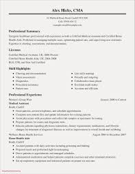 Good Summary For A Resume Inspirationa Fresh Examples Resumes Ecologist 0d