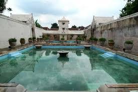 Bathing Pool At Taman Sari Yogyakarta