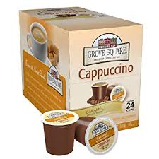 Grove Square Cappuccino Caramel 24 Single Serve Cups