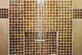 how to replace a fiberglass shower with tile as a weekend project