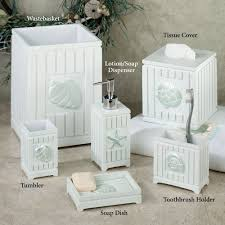 Small Lighthouse Bathroom Decor by Bathroom Best Decoration Of Seashell Bathroom Accessories