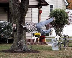 Scary Halloween Props Ideas by Scary Outdoor Homemade Halloween Decorations House Design Ideas