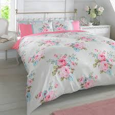 Inspiring Duvet Quilt Cover With Pillowcase Bedding Set Floral