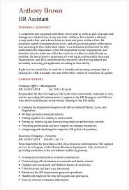 HR Assistant CV Template Manager Resume Sample This Article Below Is Worth To Read By You Check The