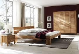home affaire schlafzimmer set material kernbuche metall modesty ii mit schubkästen